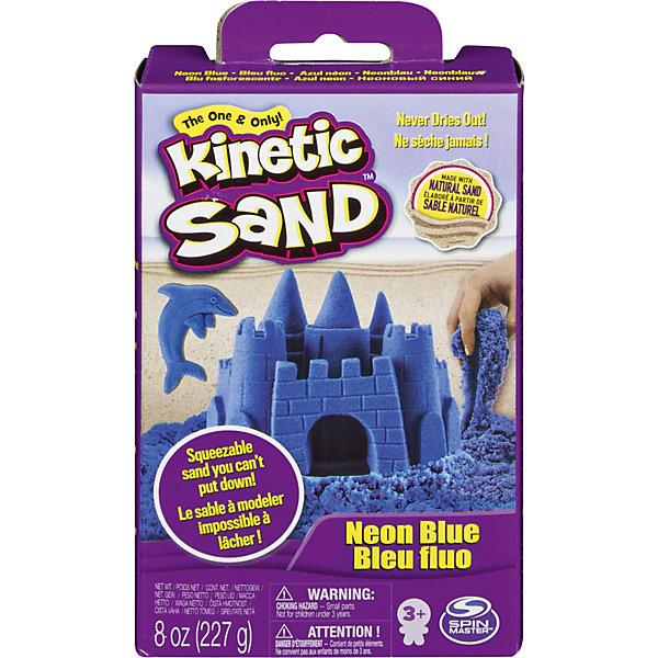 Kinetic sand Кинетический песок набор для лепки 240 г., голубой