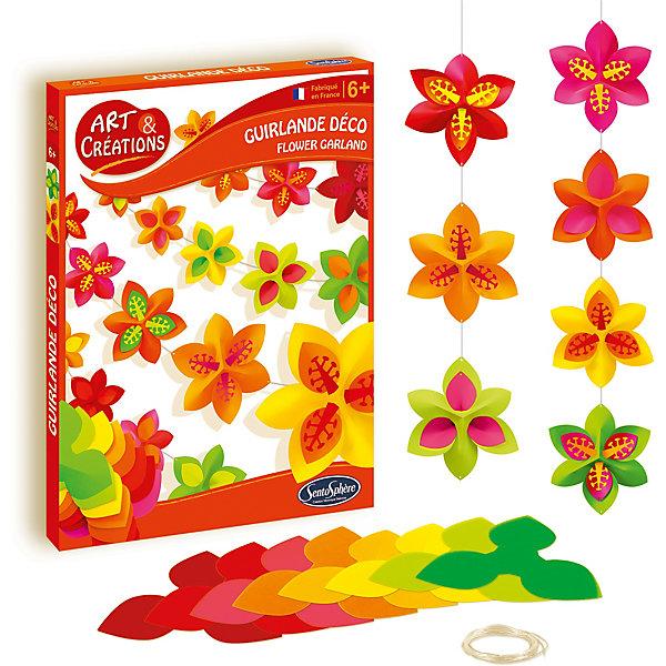 SentoSphere Набор для творчества SentoSpherE Гирлянда цветов