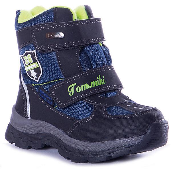 Купить Утепленные ботинки Tom&Miki, Китай, темно-синий, 30, 27, 25, 28, 26, 29, Мужской