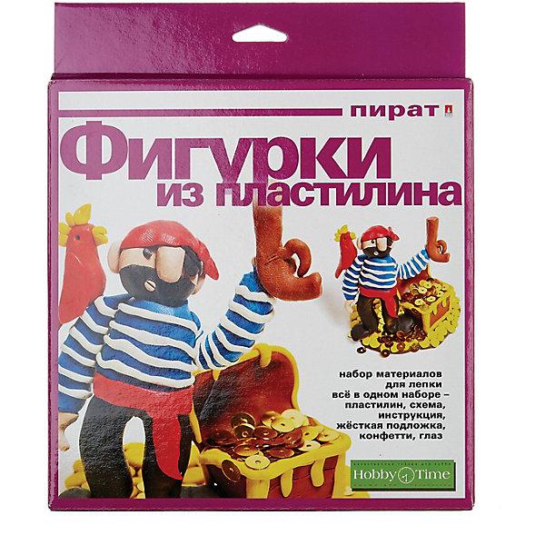 hobby time Набор для творчества HOBBY TIME Картина из пластилина. Пират №7
