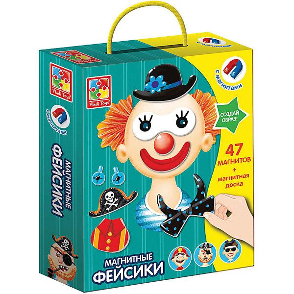 Vladi Toys Магнитная игра Vladi toys Фэйсики магнитная игра одевашка vladi toys ева