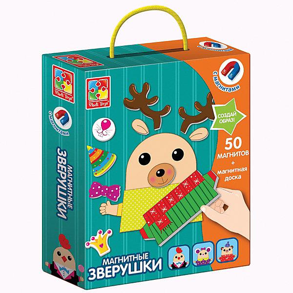 Vladi Toys Магнитная игра toys Зверушки