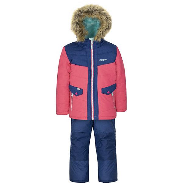 Комплект Gusti: куртка и полукомбинезон синий  12501317