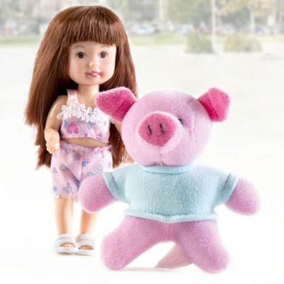 Paula Игровой набор Paula С любимой игрушкой: свинка