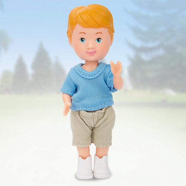 Paula Кукла Мой друг, голубая футболка, бежевые шорты