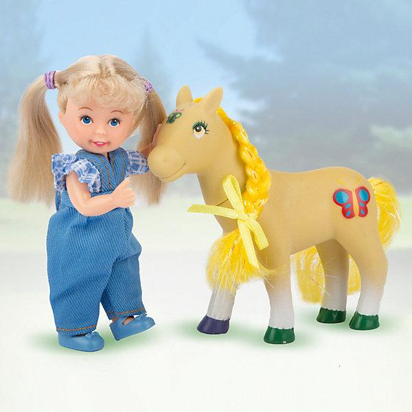 Игровой набор Paula Прогулка с пони: блондинка , Китай, белый, Унисекс  - купить со скидкой