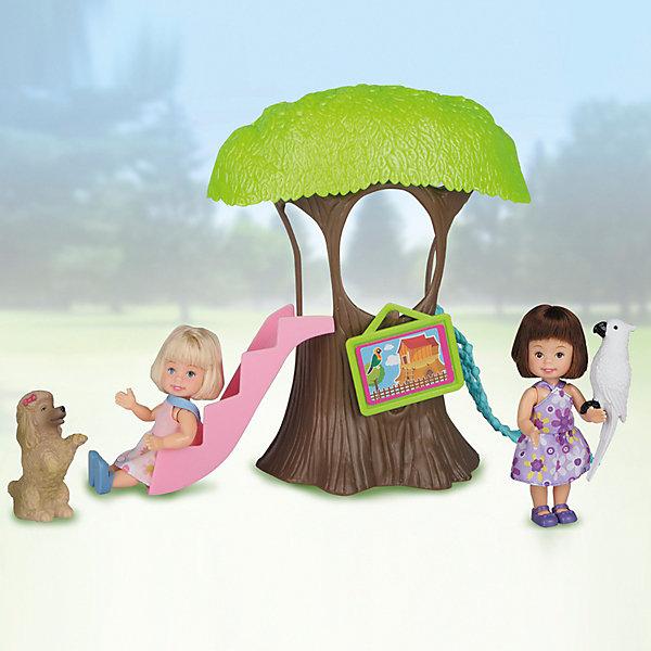 Купить Игровой набор Paula Домик в лесу , с белым попугаем, Китай, белый, Унисекс