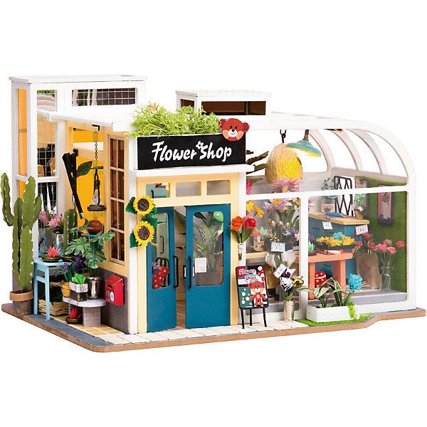 Diy House Румбокс Wow Idea Тэдди Домик Цветочный магазин