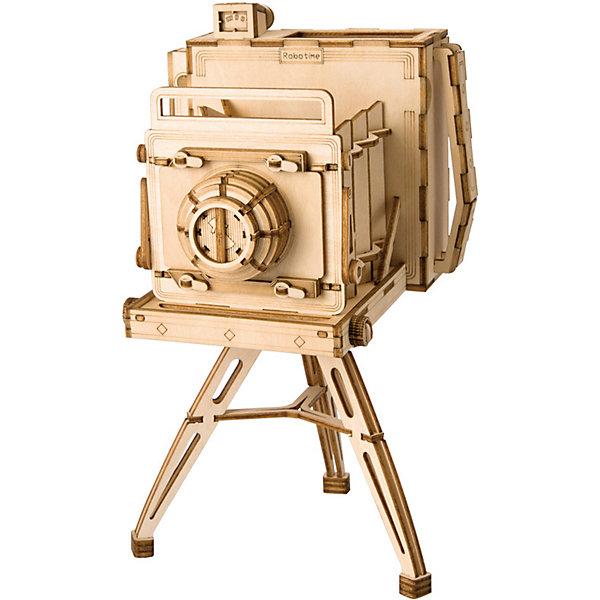Diy House Деревянный конструктор Wow Idea Винтажная камера