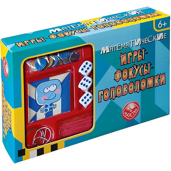 Маэстро Математические игры-фокусы-головоломки Маэстро смыкалова е в математические каникулы игры и головоломки