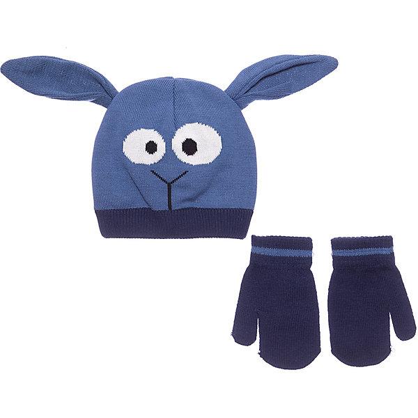 COLOR KIDS Комплект Color Kids Samuel: шапка и варежки