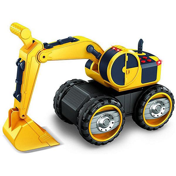 Купить Фрикционная машинка Handers Большие колёса Экскаватор с кабиной, 41 см, Китай, Мужской