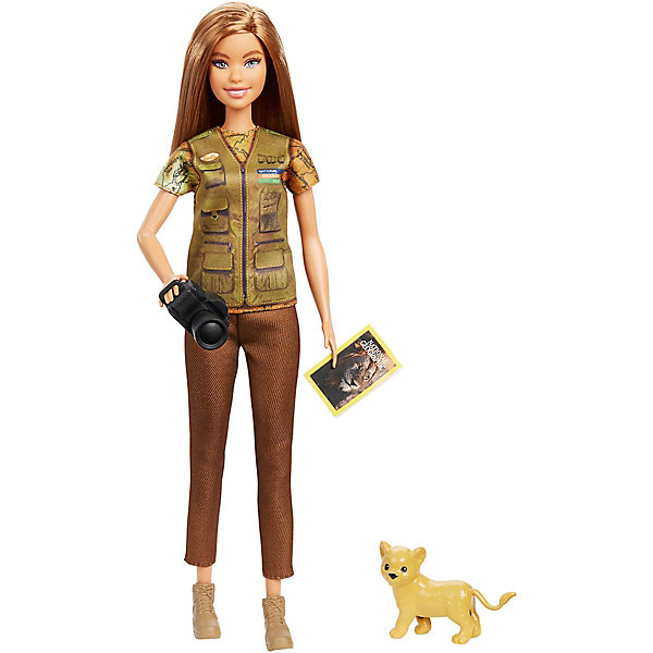 Mattel Кукла Barbie Кем быть? National Geographic Фотожурналист