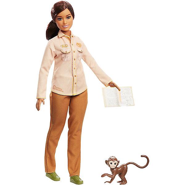 Mattel Кукла Barbie Кем быть? National Geographic Защитница дикой природы