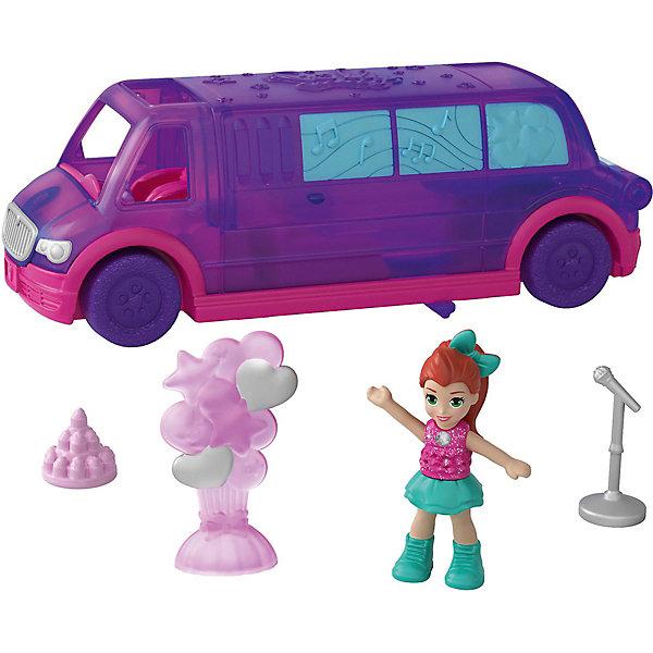 Mattel Игровой набор Polly Pocket Полливиль Лимузин для вечеринок