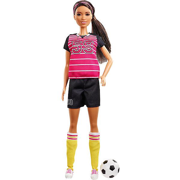 Mattel Кукла к 60-летию Barbie Кем быть? Футболистка