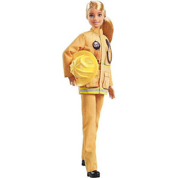 Mattel Кукла к 60-летию Barbie Кем быть? Пожарный