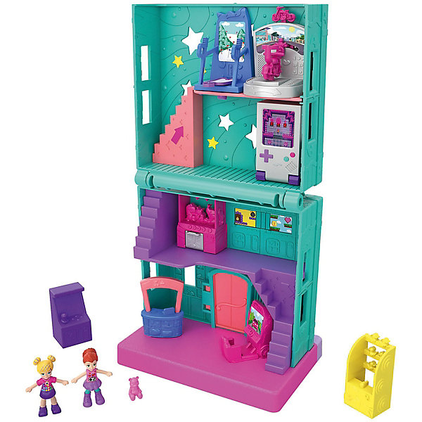 Mattel Игровой набор Polly Pocket Полливиль Игровая комната