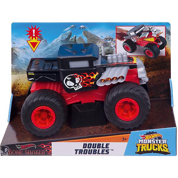 Mattel Машинка-трансформер Hot Wheels Monster Trucks Боун Шейкер