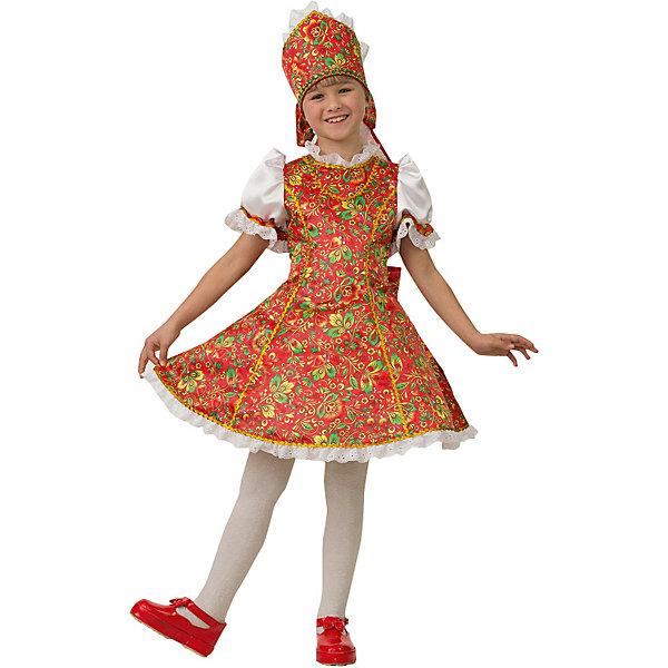 Jeanees Карнавальный костюм Jeanees Марьюшка карнавальный костюм jeanees цыплёнок пончик цвет желтый размер 28