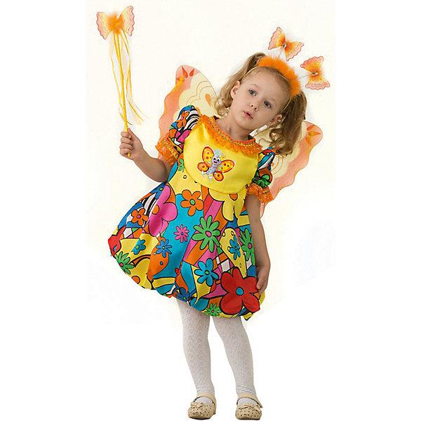 Jeanees Карнавальный костюм Jeanees Бабочка сказочная карнавальный костюм jeanees цыплёнок пончик цвет желтый размер 28