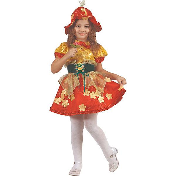 Батик Карнавальный костюм Батик Дюймовочка шапка для девочки lucky child дюймовочка цвет мультиколор 37 9 цв размер 45
