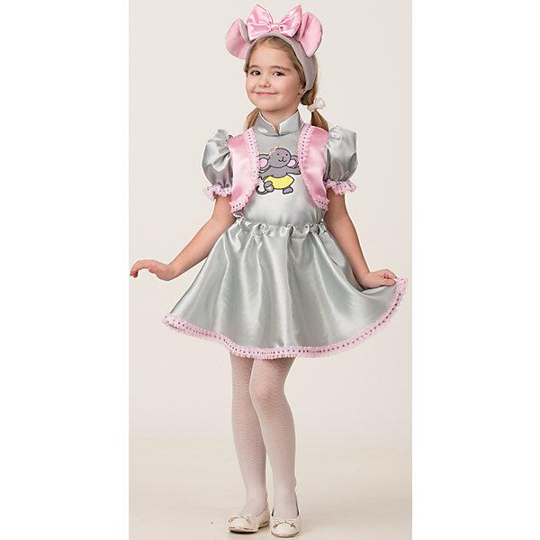 Jeanees Карнавальный костюм Jeanees Мышка Вита карнавальный костюм jeanees цыплёнок пончик цвет желтый размер 28