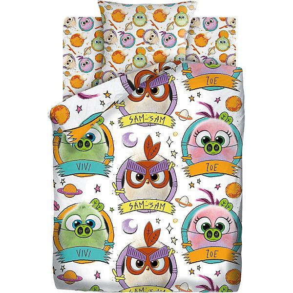 Детское постельное белье 1,5 сп Angry Birds 2