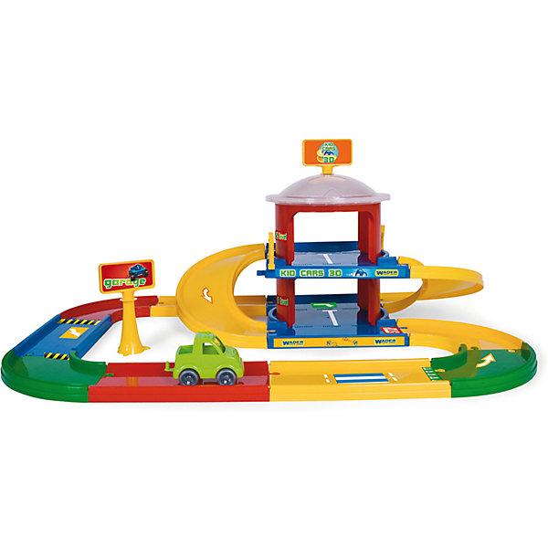 Wader Игровой набор Kid Cars 3D Гараж, 2 этажа