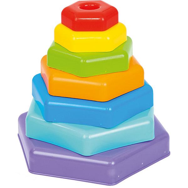 Тигрес Развивающая игрушка Tigres Радужная пирамидка