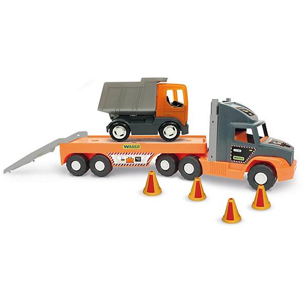 Wader Игровой набор Super Tech Truck, c грузовиком
