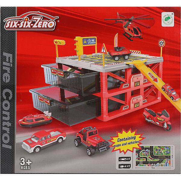 Наша Игрушка Парковка Наша Игрушка Пожарная служба набор машинок siku пожарная служба 1818rus