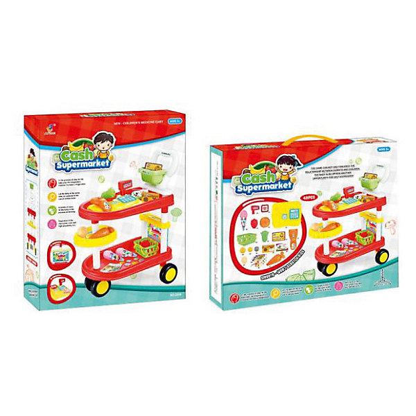 Наша Игрушка Игровой набор Наша Игрушка Супермаркет 49 предметов [] чистка если jingdong супермаркет стеллажи dip означает 10 стойки 4 цвета случайная упаковка jd 7089