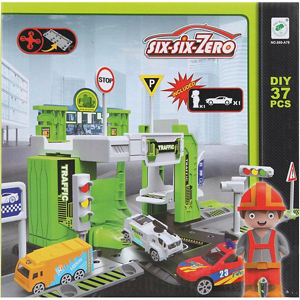 Наша Игрушка Парковка Наша Игрушка Чистый город фигурка наша игрушка горилла spl310484