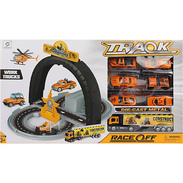 Наша Игрушка Парковка Наша Игрушка с машинками игрушка