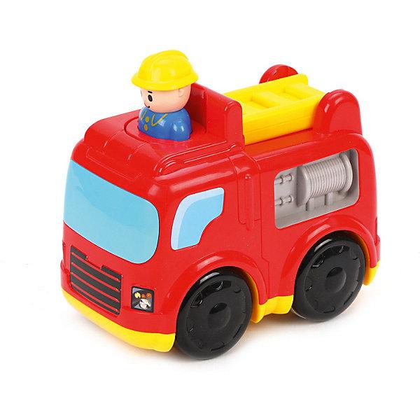 Жирафики Инерционная игрушка Пожарная машинка