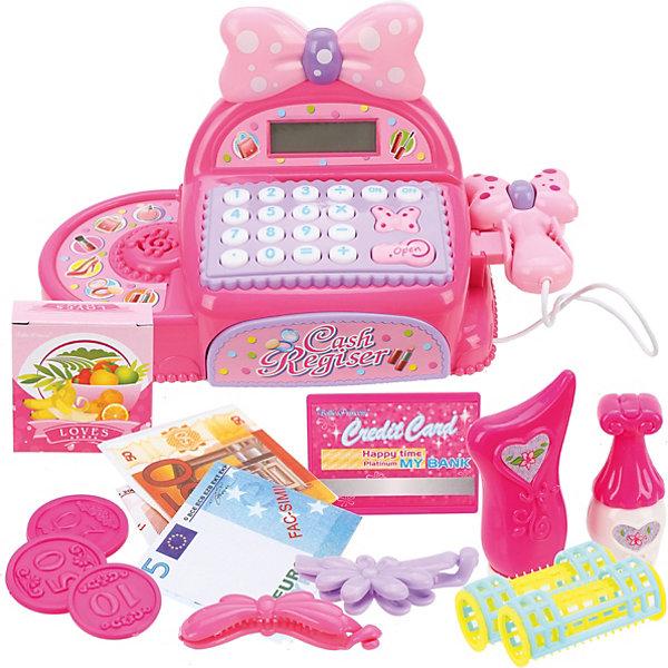 Купить Электронная касса Наша Игрушка Мой магазин , звук, Китай, розовый, Женский