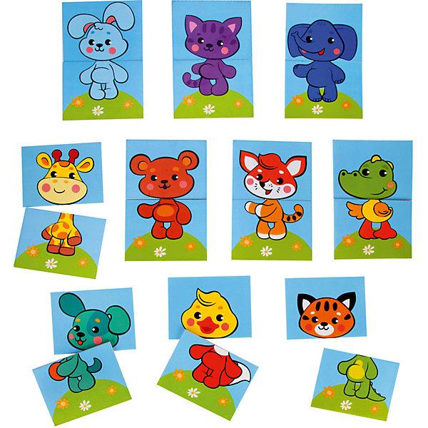 Жирафики Набор стикеров для ванны Собери картинку Животные