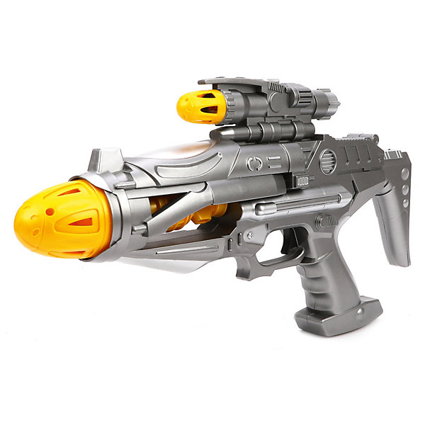 Наша Игрушка Бластер Space Defender, свет, звук