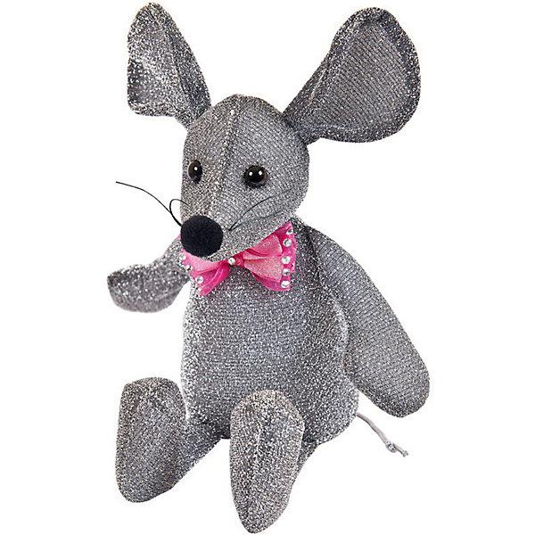 ABtoys Мягка игрушка Abtoys Мышка блестящая 16 см