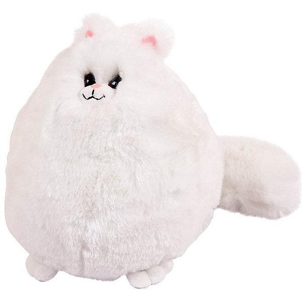ABtoys Мягкая игрушка Abtoys Мягкое сердце Кошка пушистая 20 см игрушка брелок мягконабивная назад к истокам huggy buddha talisman