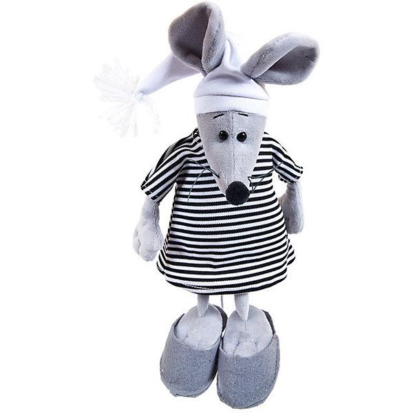 ABtoys Мягкая игрушка Abtoys Мышка в тельняшке 25 см