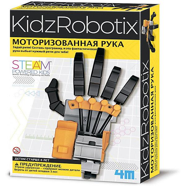 4M Набор для робототехники 4M KidxRobotix Моторизированная рука цена