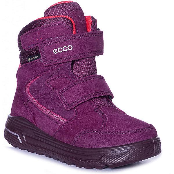 Купить Утеплённые ботинки ECCO, Индонезия, красный, 27, 32, 35, 28, 30, 31, 33, 29, 34, Унисекс