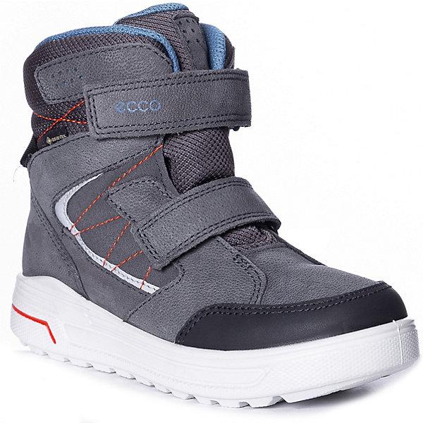 Купить Утеплённые ботинки ECCO, Индонезия, черный джинсовый, 35, 33, 34, 32, Унисекс