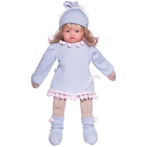 Asi Кукла Asi Берта в пальто 43 см, арт 484900 asi классическая кукла asi пепа в клетчатом пальто 60 см