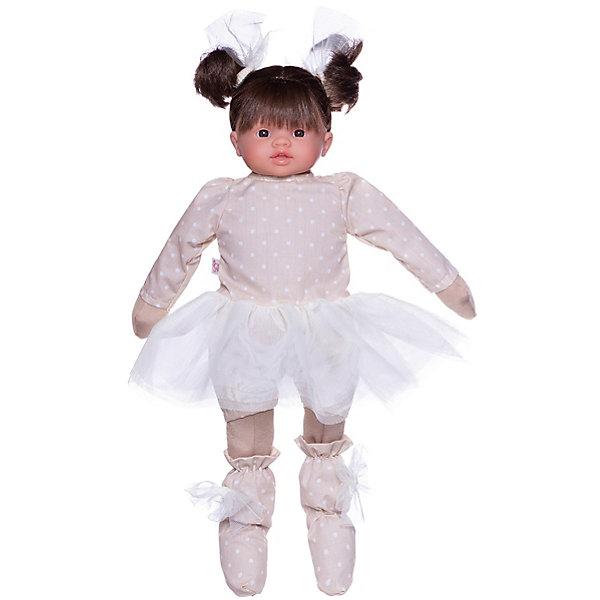 Asi Кукла Asi Берта в платье в горошек 43 см, арт 484880 парогенератор tefal gv9563 pro express ultimate care