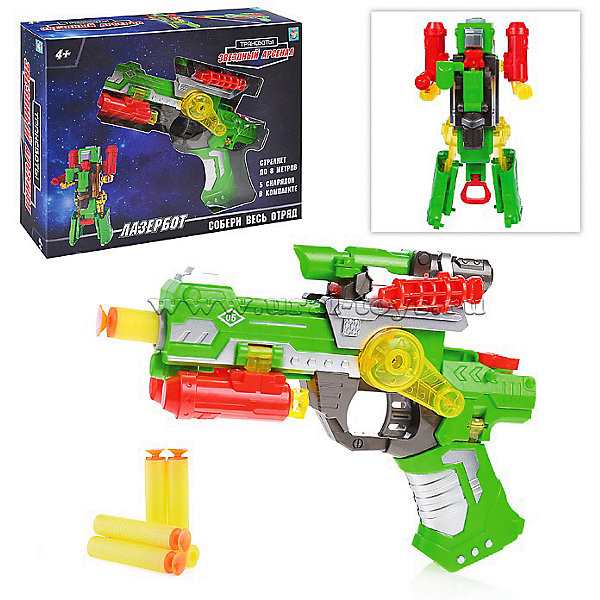 Купить Оружие 1Toy Трансботы. Звёздный арсенал Лазербот, Китай, разноцветный, Мужской