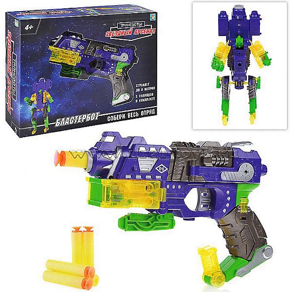 Купить Оружие 1Toy Трансботы. Звёздный арсенал Бластербот, Китай, разноцветный, Мужской