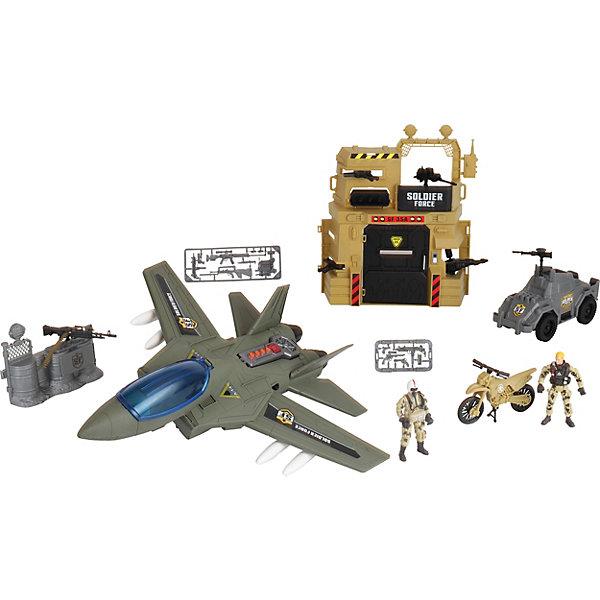 Игровой набор Chap Mei Воздушная атака бункера